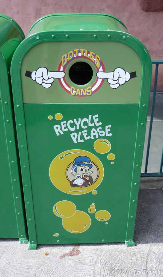 Garbage Cans Of Disneyland Mouse Fan Caf 233