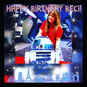 Happiest of Birthdays to our fearless leader  becimahnken! Hopehellip