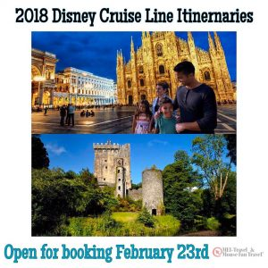 2018 disneycruiseline itineraries available for booking on February 23! Wherehellip